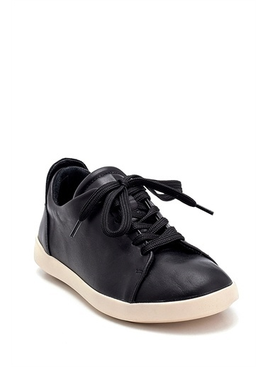 Derimod Kadın Ayakkabı(H-01) Spor Siyah